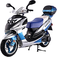 "CARB Approved TAOTAO 150cc Sporty Scooter LANCER 150 with 13"" Big Tires. Free shipping to door, free lift-gate service, free helmet, free 1-year bumper to bumper warranty."