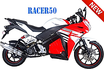 "2018 Tao Tao Racer 50cc Street Sport Bike Scooter Motor Bike Motorcycle Fully Automatic with LED Lights, 12""/17"" Big Tires, Sport Wheels, Lockable Storage, Aluminum and Adjustable Rear Shock, free shipping to your door, free helmet."
