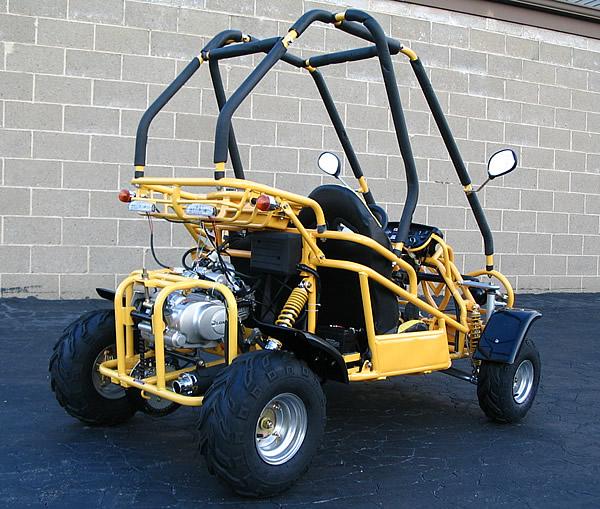110cc 2 Seater Go Kart Dune Buggy Auto+Reverse &Helmet on